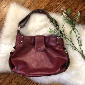 Matt & Nat Red Vegan Leather Shoulder Bag Purse